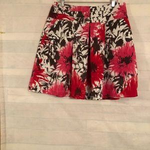 Cato Women's Pink , Brown , White , Pleaded Skirt